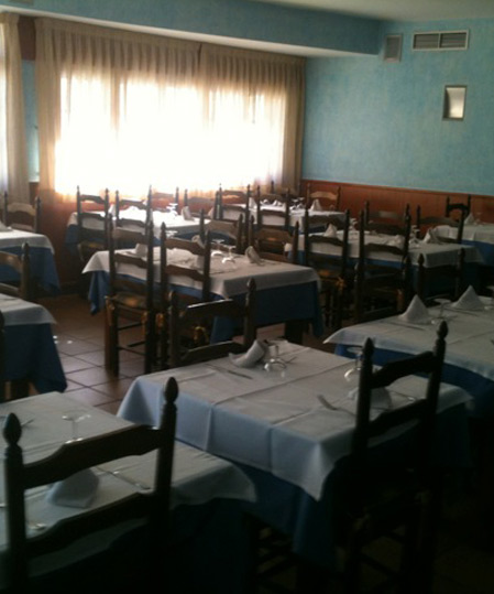 Restaurante Chaves mesas